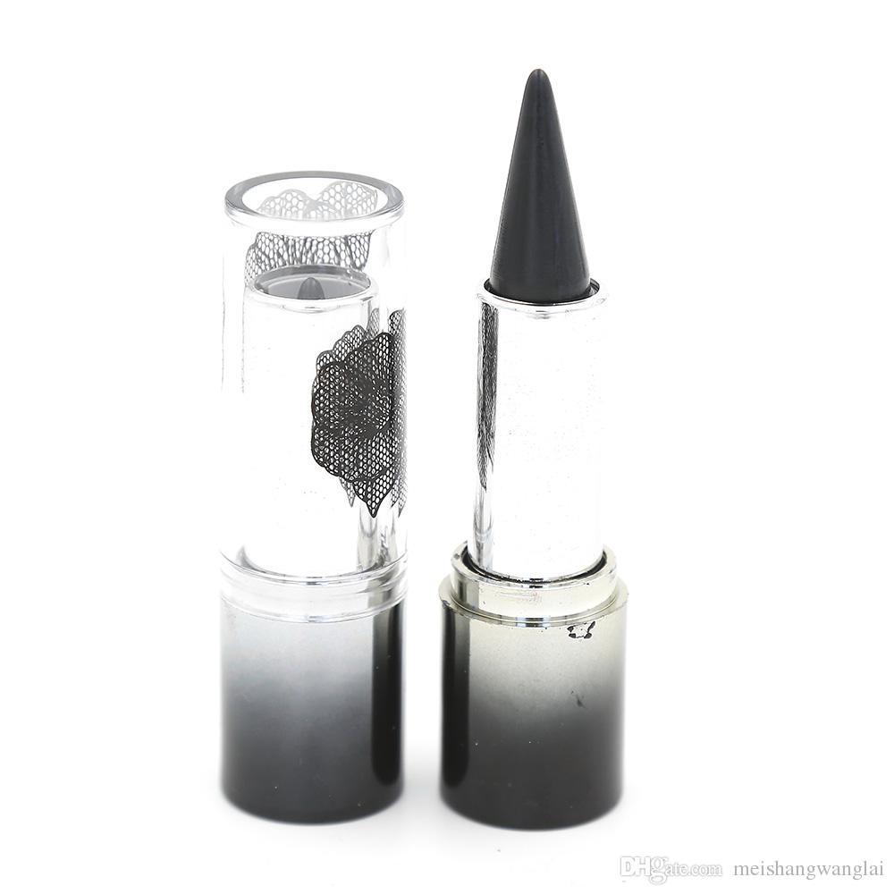 アイライナークリームペン鉛筆アイシャドー24ピースブラックアイシャドウスティックアイライナーエメラルド防水ロングラストコール鉱物柔らかさ8152