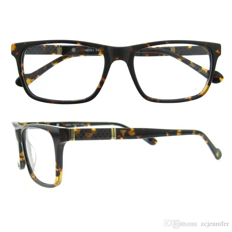 New Arrival Rectangle Fashion Frame Eyewear Metal Decoration Gold ...