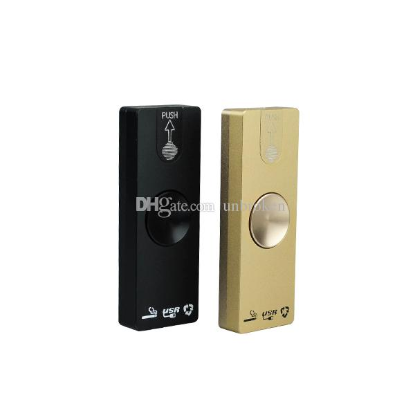 2017 new product Fidget Spinner LED Cigarette Lighter LED Hand Spinner Aluminium Alloy USB Charger 3 in 1 Functions
