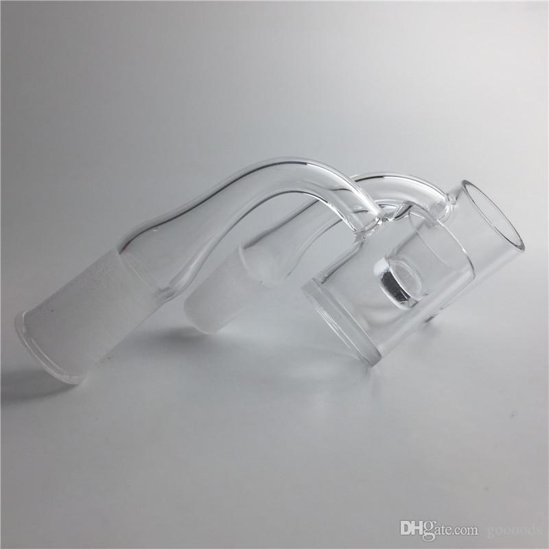 Nuovo chiodo Banger XL al quarzo con 10mm 14mm 18mm Maschio Femmina 4mm Fondo inferiore 2mm Pareti piatte spesse Quarzo Banger Domeless