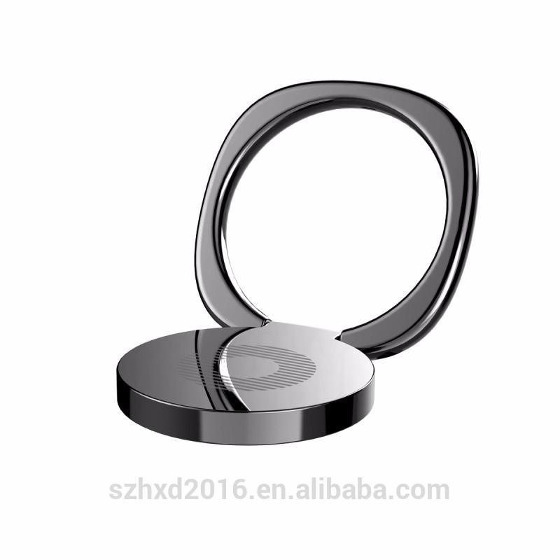 Baseus titular do telefone móvel de 360 graus suporte de anel de dedo magnético suporte de mesa suporte de telefone suporte de mesa | Preto