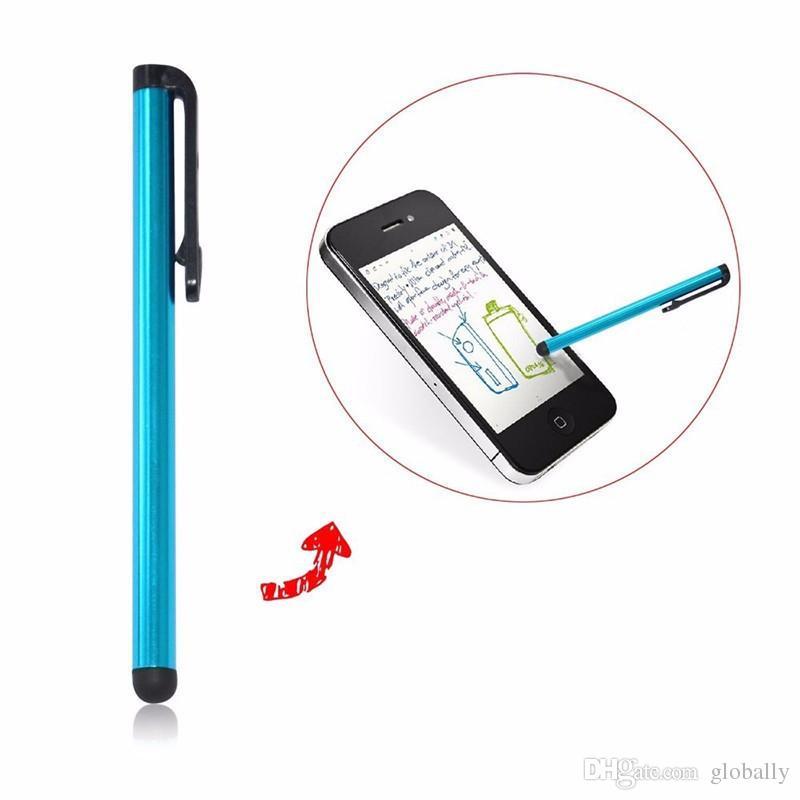 Pluma capacitiva de la pantalla táctil de la mini aguja de la aguja para la pantalla de la capacitancia Iphone 5S Ipad 2/3/4 SUMSANG S5 / S4