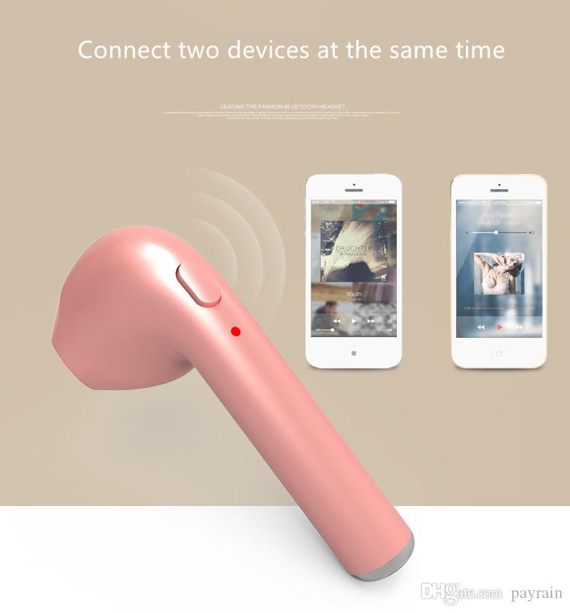 HBQ i7 TWS Auricolare Bluetooth Mini Auricolare senza fili Auricolare in-Ear Auricolare Sport Auricolare iPhone 7 7 plus HBQ i7