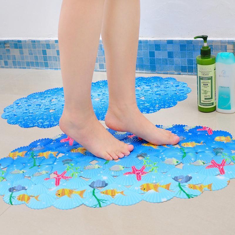 2017 Wholesale Cartoon Non Slip Bath Mats Small Fish Pattern Anti Slip Mats  For Bath Sucker Shells Childrenu0027S Shower Mat In Bathroom From Herbertw, ...