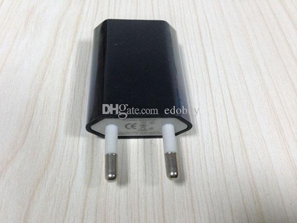 De boa qualidade Carregador da parede de USB do curso da CA da UE para o iPhone 5 5s 4 4S Samsung galáxia S2 S3 S4 2016
