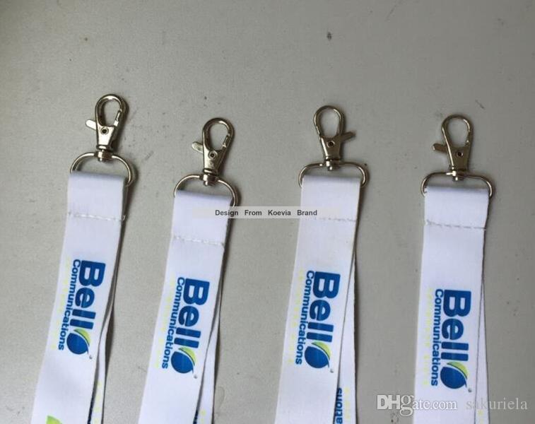 Быстрая доставка пользовательские 1 дюйм логотип отпечатаны Шелковый экран событие конференция Бизнес продвижение подарок шеи талреп ремень