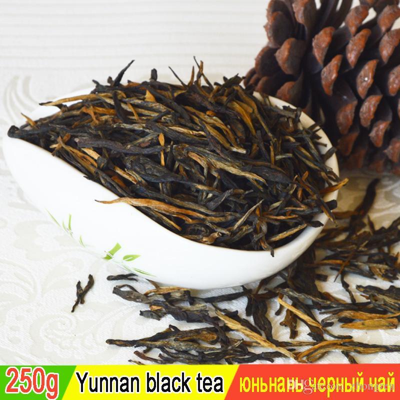 250 г черного чая время платы Dianhong красный китайский чай Maofeng зеленый здоровое питание + БЕСПЛАТНАЯ ДОСТАВКА