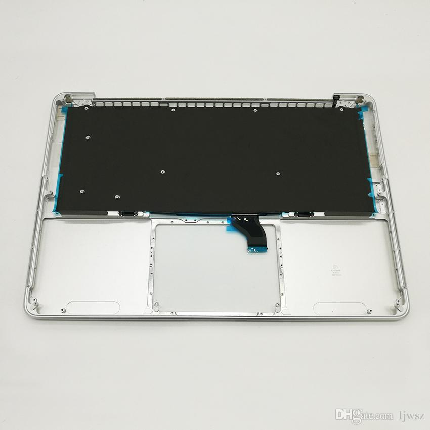New RU keyboard For Macbook Pro 13.3'' Retina A1502 Topcase Palmrest Top case with RU Russian keyboard 2015