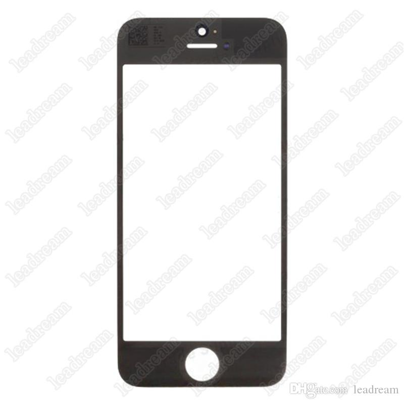 High Quality Front Outer Touch Screen Glass Replacement for iPhone 5 5s 5c free DHL