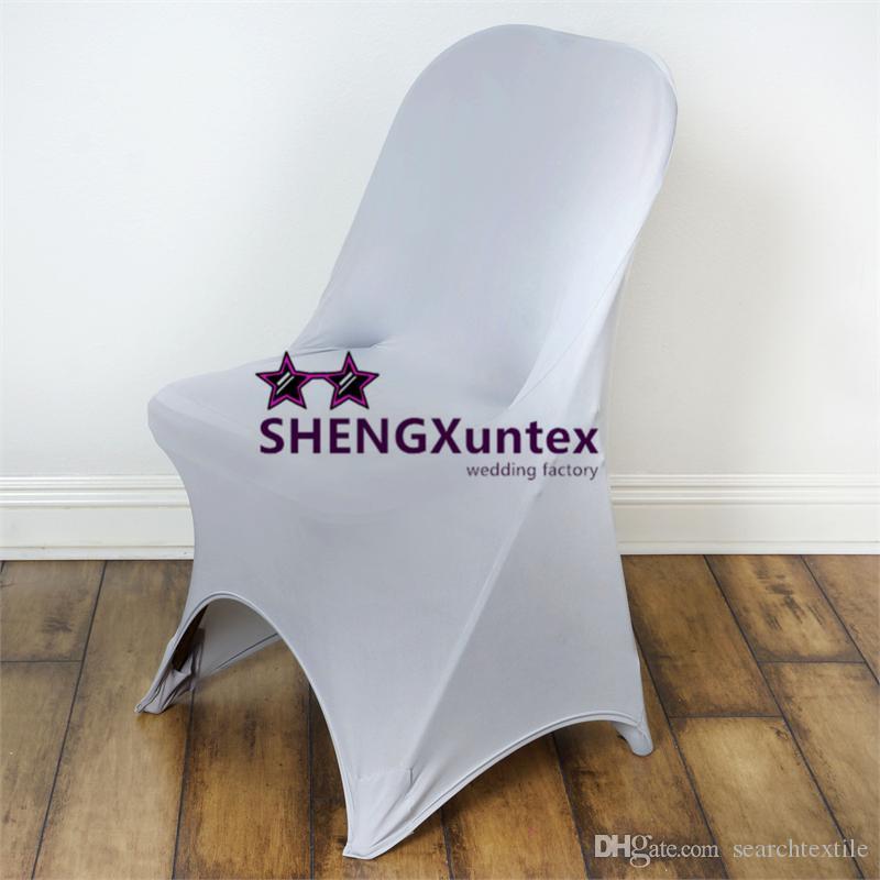 Copertura pieghevole della sedia dell'elastam del lycra di nozze e del partito la decorazione