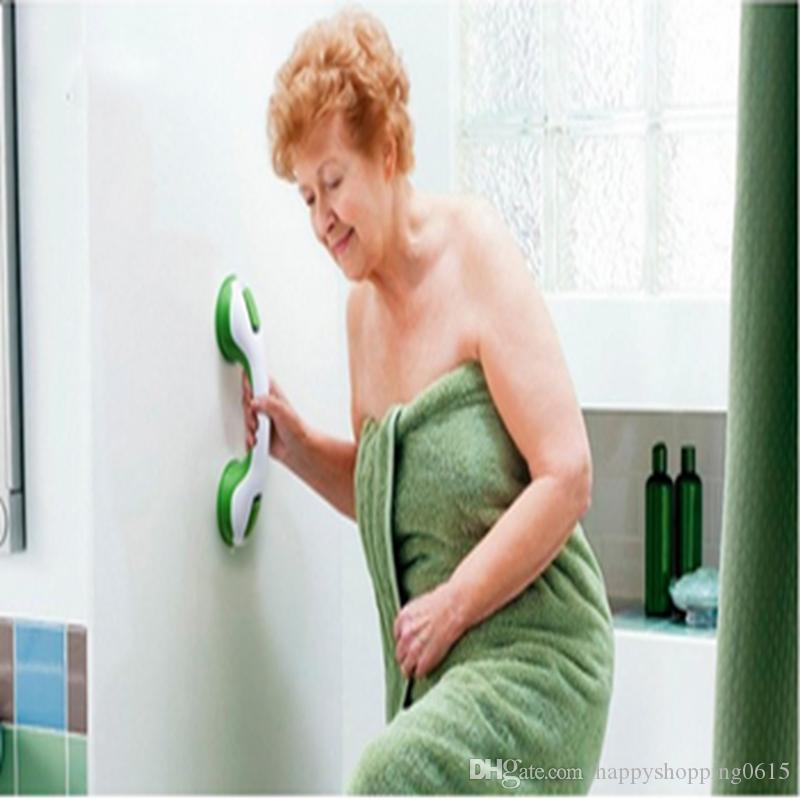 2018 Bathroom Shower Room Safety Toilet Grab Bar Handle Suction ...