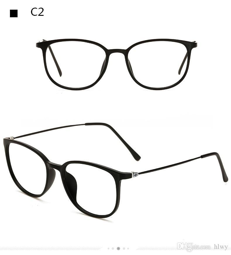 Nouvelle lentille plate de la marée en gros 872 cadres de grande boîte pour les hommes et les femmes Super light lunettes cadre de lunettes