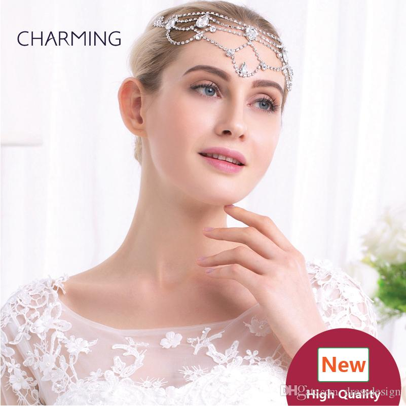 Forehead Bands Hair Accessories Crystal Hair Clips Bridal Hair Accessories  Best Wholesale Products China Market Online Hair Accessories For Bride Hair  ... 44dec2df2e1