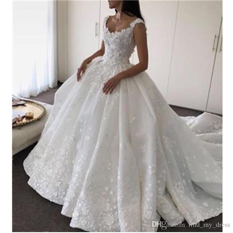 Princess Wedding Dresses Satin