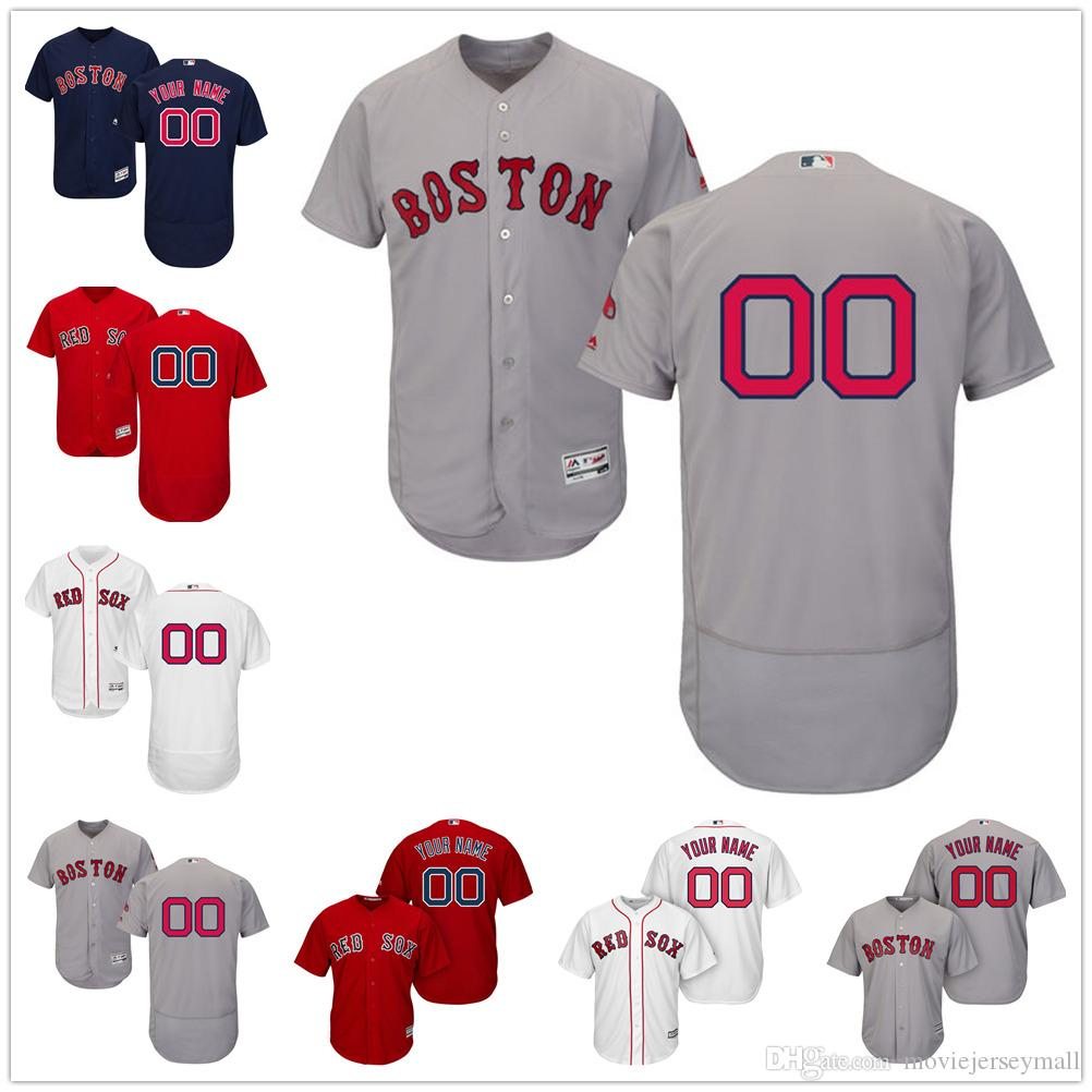 7a4b88d05 personalized red sox jersey Personalized Boston Red Sox T Shirts ...