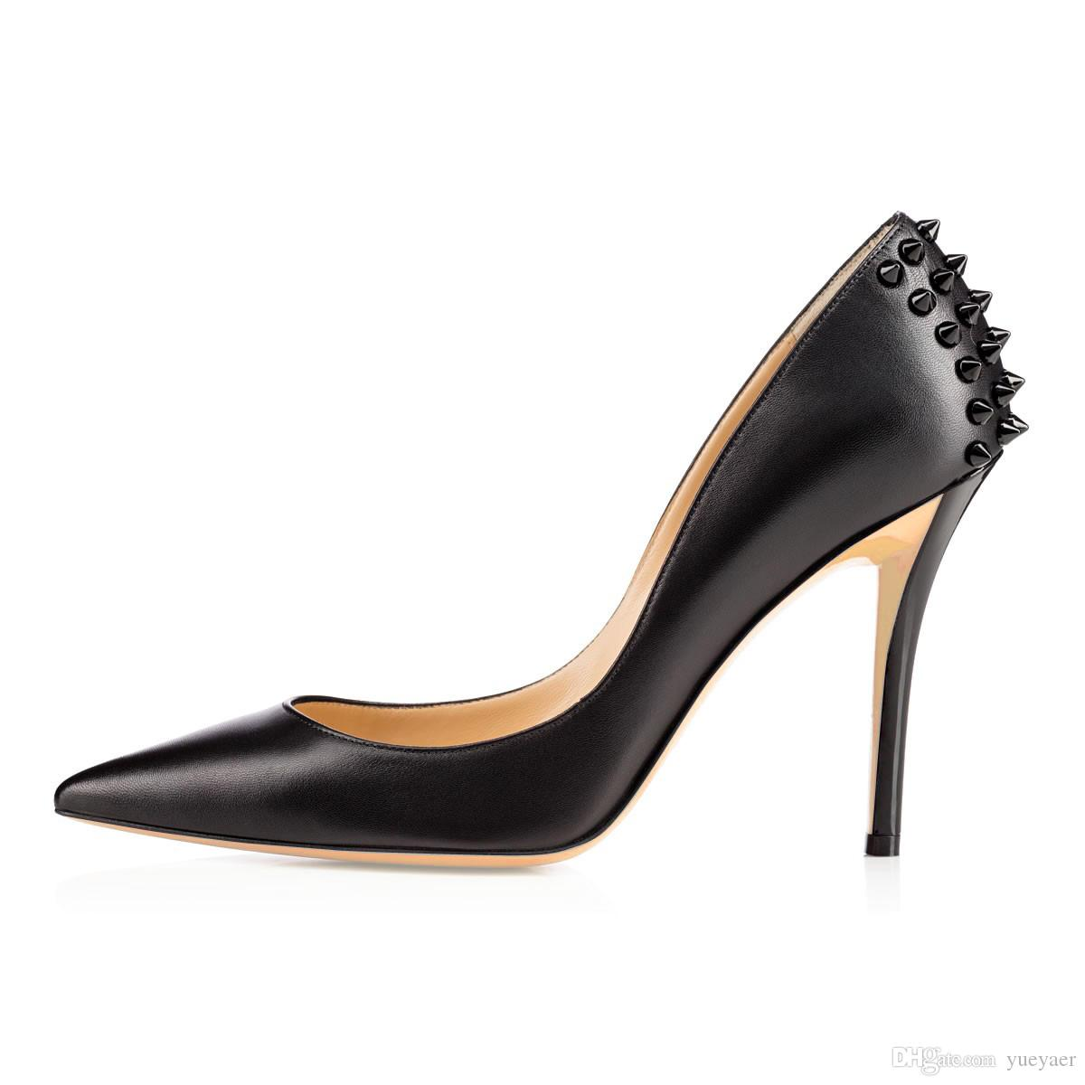 e433f03d00cf Zandina Womens Ladies Handmade Fashion 10cm High Heel Pointed Toe ...