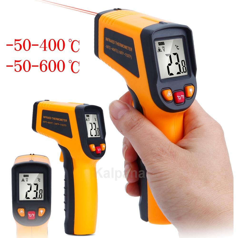 2018 Handheld Digital Non Contact Infrared Thermometer 50 400 600 Lcd Electronic Circuit Degree Celsius Laser Display Ir Measurement Gun From A870384 162 Dhgate