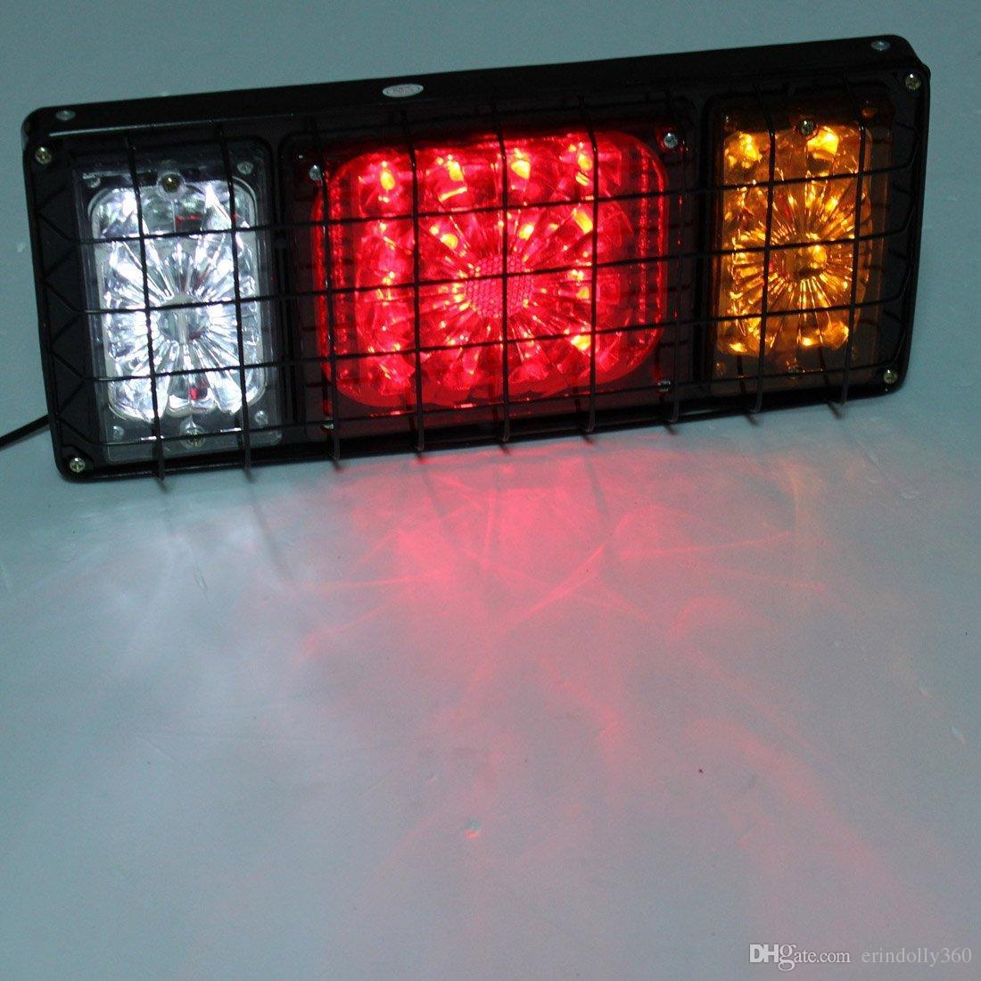 12V Rear Stop LED Lights Tail Indicator Lamp Trailer Caravan Truck Van UTE