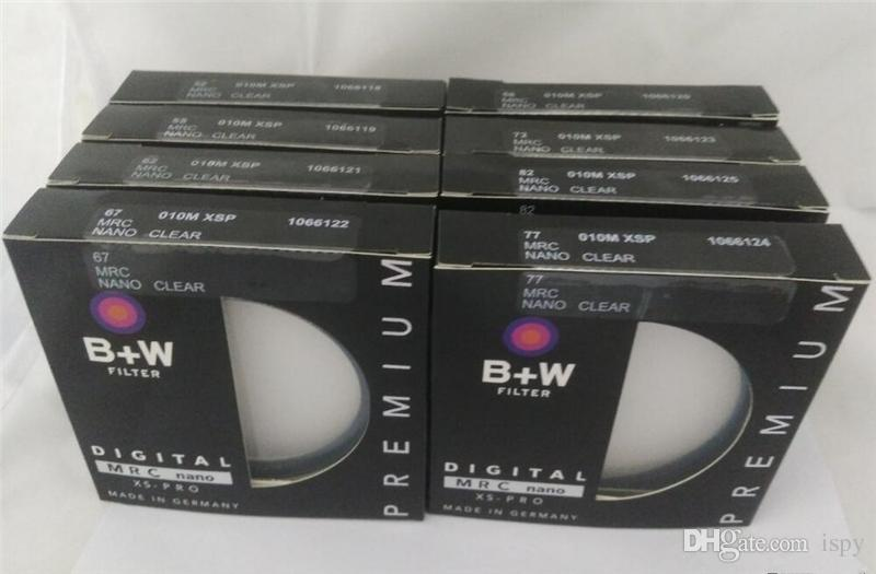 49 52 55 58 62 67 72 77 82mm B+W MRC UV Circular Ultra-Violet Filter Professional Lens Protector With Retail Package