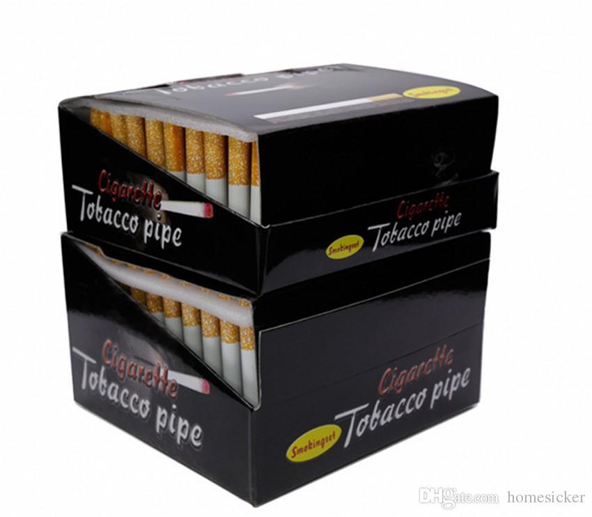 도매 연기가 나기 알루미늄 합금 관 / 상자 78mm에 55mm 길이 하나 타자 관 담배 박쥐 알루미늄 금속 관
