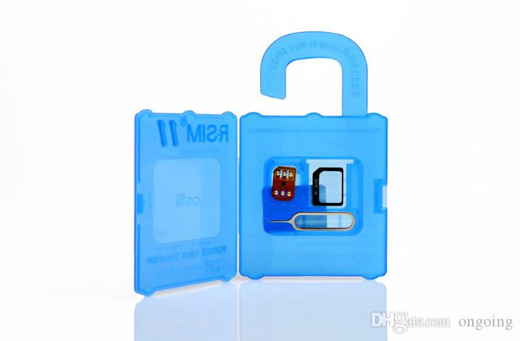 R SIM 11 RSIM11 r sim11 rsim 11 kilidini kart iphone 5 6 7 6 artı iOS7 / 8/9 / ios 10 ios10CDMA GSM / WCDMA SB AU SPRINT 3G 4G DHL Ücretsiz