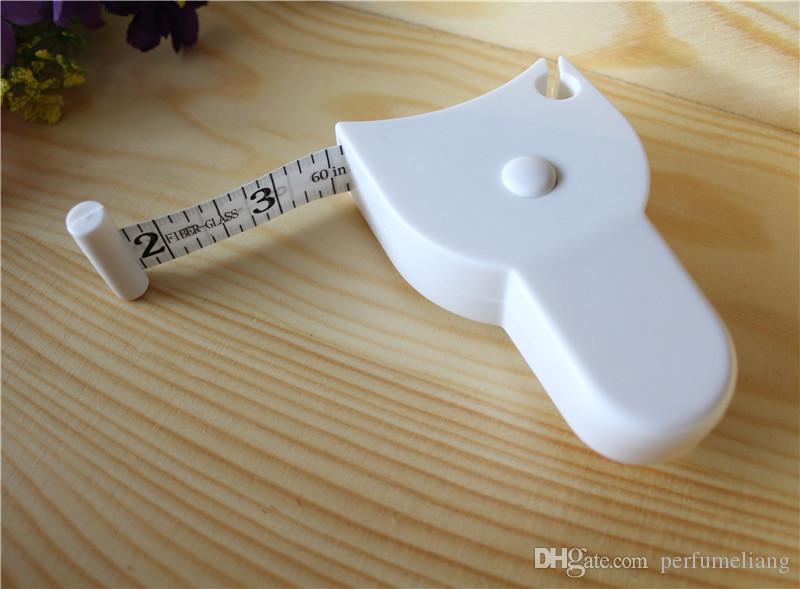 무료 배송 60 ''150cm 헬맷 정확한 캘리퍼스 측정 테이프 체지방 체중 감소 측정 식 개폐식 눈금자 WA2011