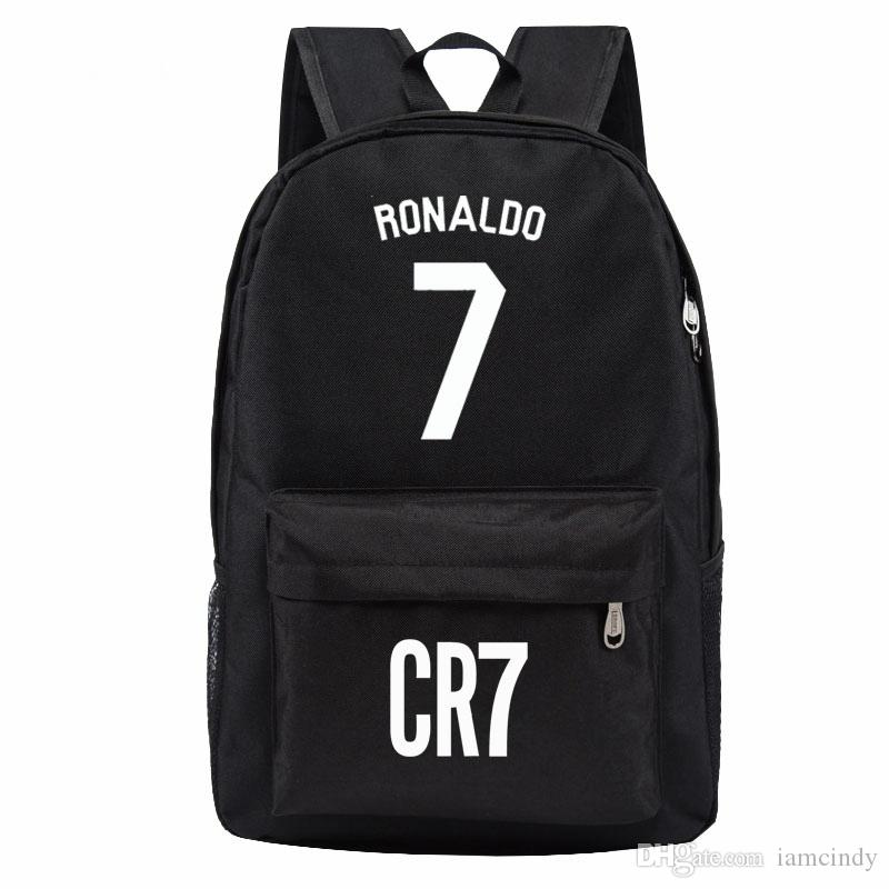Madrid Ronaldo Backpack Designer Backpacks Football Bags Sport Waterproof Bags  Kids School Bags For Teenage Boys Girls Handbags Rucksack From Iamcindy