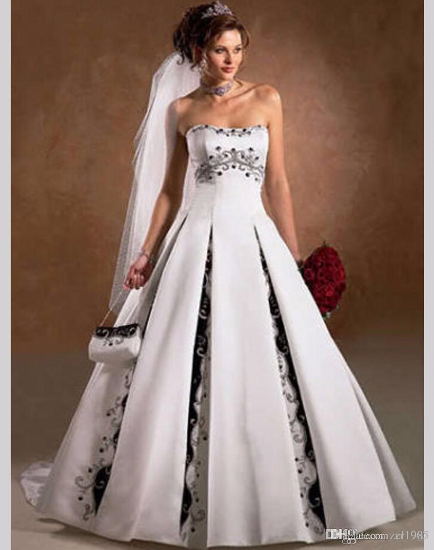 Discount Vestidos De Noiva Robe De Mariage Abendkleid Eine Linie ...