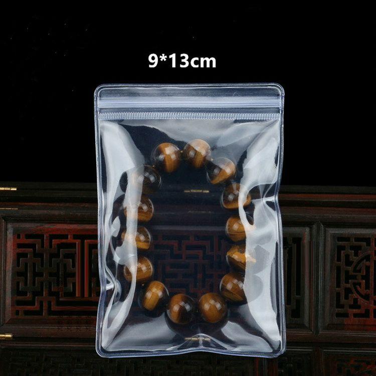 Hot Sale Plastic Jewelry Bags 6x8cm - 14x16cm Transparent PVC Ziplock bags Pouches Earrings Bracelets Gift Bag Wholesale Free Ship- 0034Pack