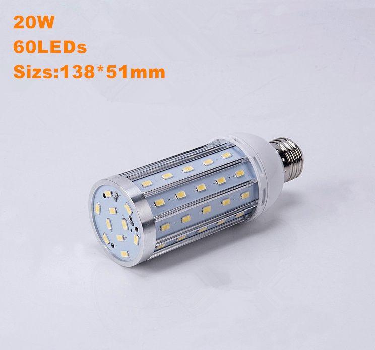 2017 yeni stil alüminyum Led ışık 10 W 15 W 20 W 25 W 30 W 40 W 60 W 80 W SMD5730 mısır ışık AC85-265V Yüksek powe Yüksek parlaklık ampul