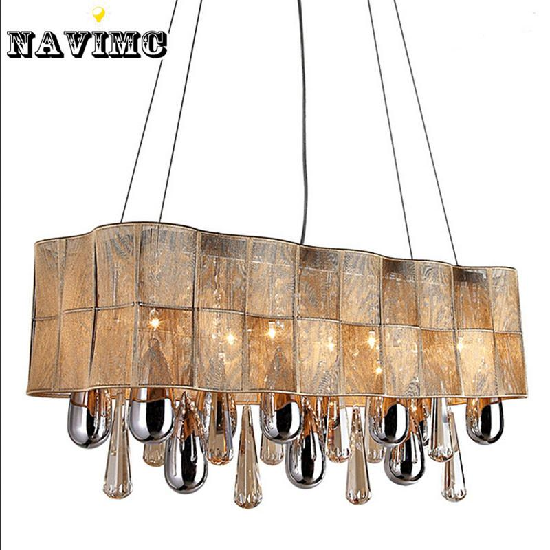 Vintage chandelier european luxury modern lighting led k9 vintage chandelier european luxury modern lighting led k9 rectangular modern crystal chandelier for dinning room lights lamp hand blown glass pendant lights aloadofball Choice Image