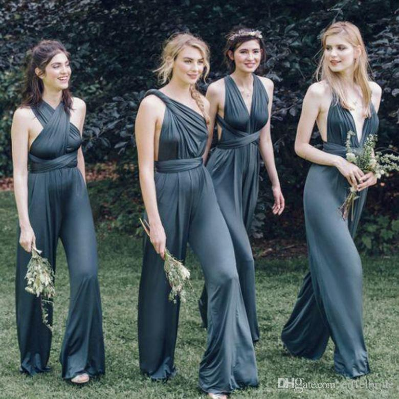 2016 Cheap Custom Convertible Dress Bridesmaids Dresses Sexy Mix