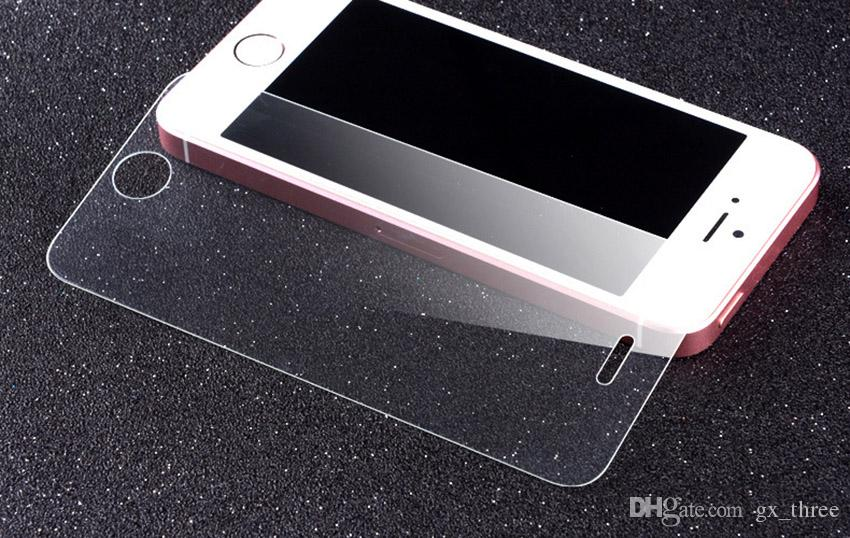 9H Tempered Glass for the iPhone7 / 7plus 2.5D Arc edge LG G5 Samsung S6 Explosion-proof Glass Film 0.4mm Mobile Phone Screen