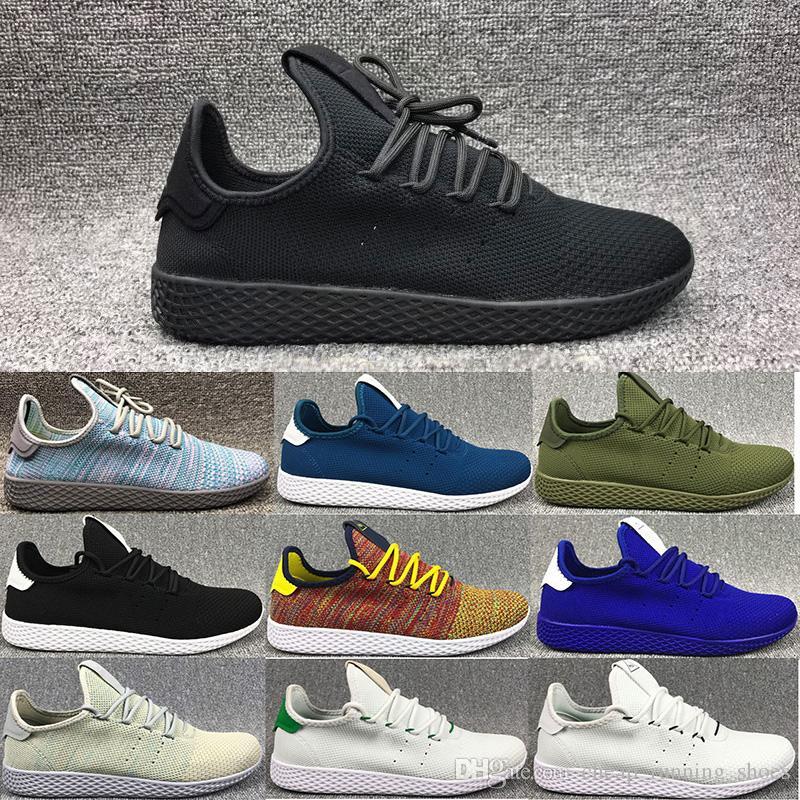 High Quality Pharrell Williams X Stan Smith Tennis HU Primeknit Men Women  Running Shoes Sneaker NMD Boost Runner Sports Shoes EUR 36-45 Pharrell  Williams ...