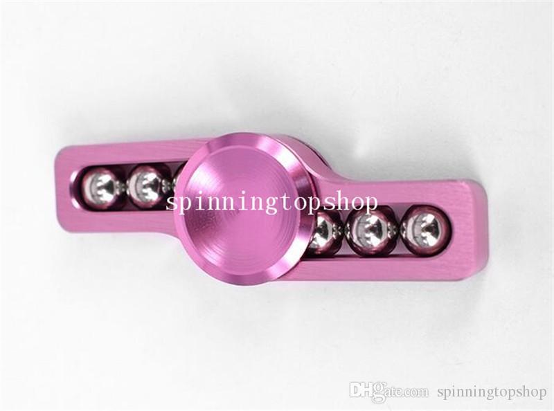 Apito Estilo Fidget Spinner HandSpinner Mão Spinner Dedo EDC Brinquedo Para Descompressão Ansiedade Aço Inoxidável Metal Liga de Alumínio Brinquedos