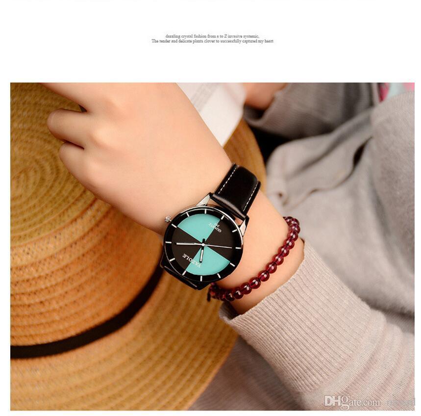 Yazole 348 Настольные модные кварцевые часы