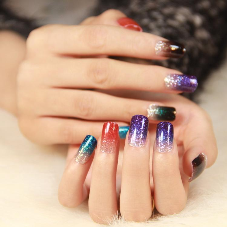 Fashion Mix Uv Gel Nail Art Glitter Dust Powder For Uv Gel Acrylic ...