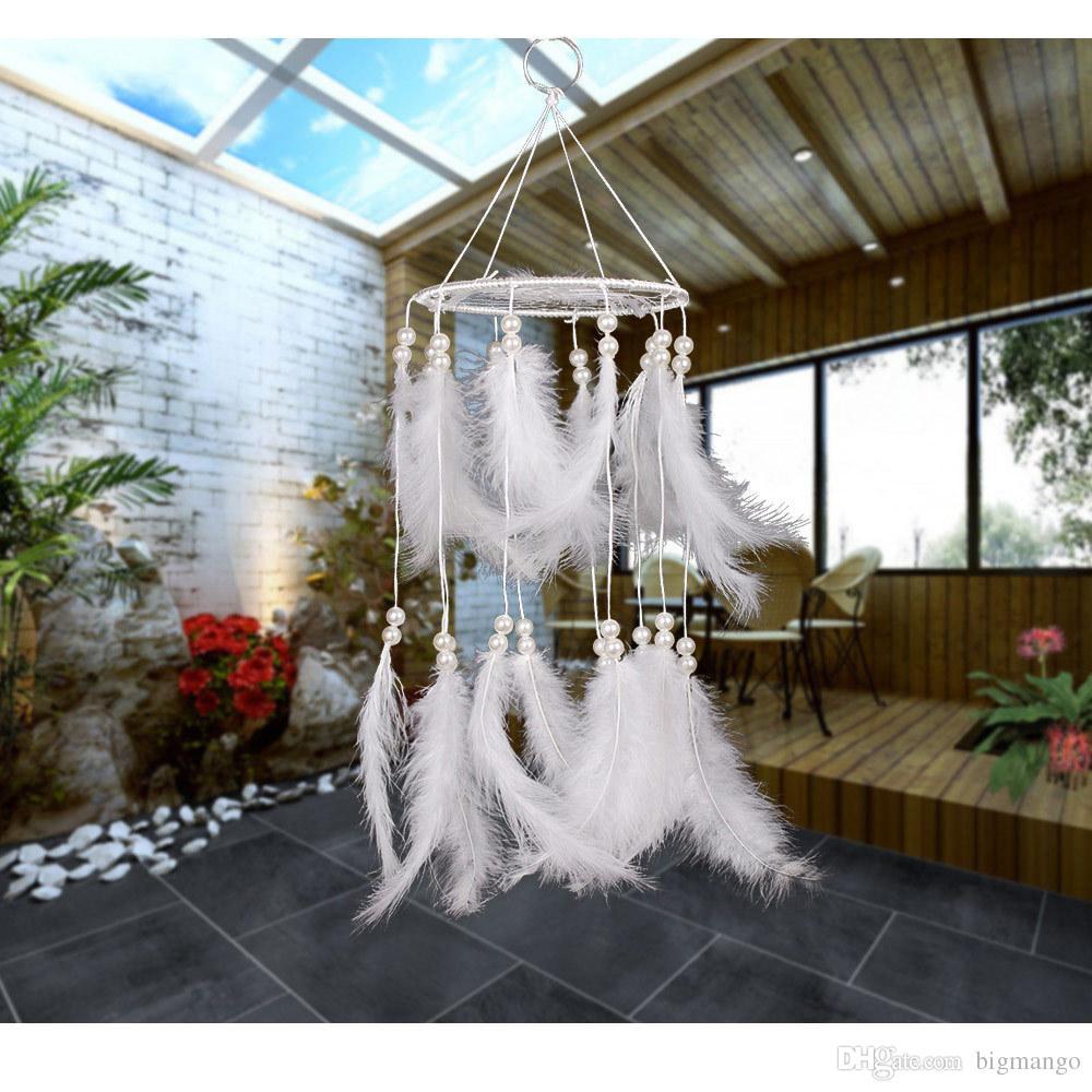 Multi-Styles Dream Catcher Antik Imitation Enchanted Forest Geschenk handgemachte Dream Catcher Net mit Federn Wandbehang Dekoration Ornament