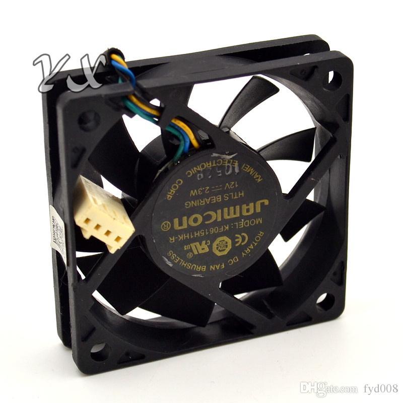 Super silencioso Ventilador de refrigeração KF0615H1HK-R DC 12 V 2.3 W 4 fios 4-Pin 50mm 60X60X15mm