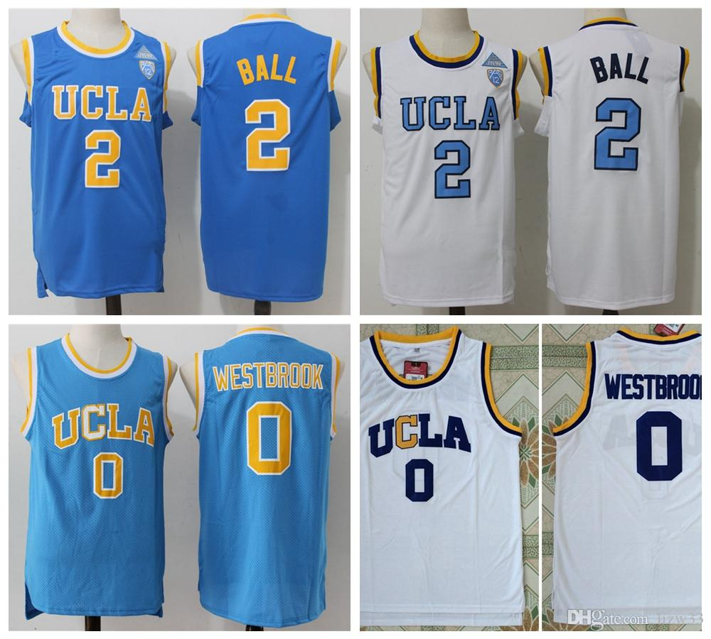hot sales cca51 84f44 russell westbrook college jersey
