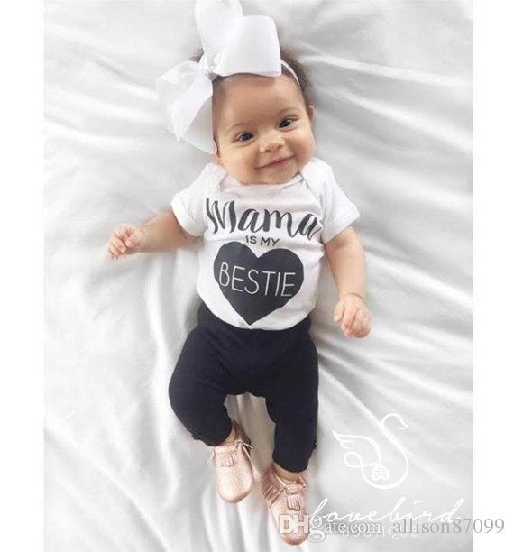 Bébé barboteuses bébé vêtements 2017 été INS lettres poisson 5 styles Daddy mama bobysuits Dors bien nouveau-né nourrissons barboteuse blanc 0-2ans