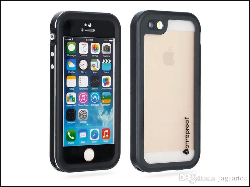 Hot selling Waterproof Metal Case Hard Aluminum Dirt Shock Proof Mobile Cell Phone Cases Cover for iphone5/5S/SE