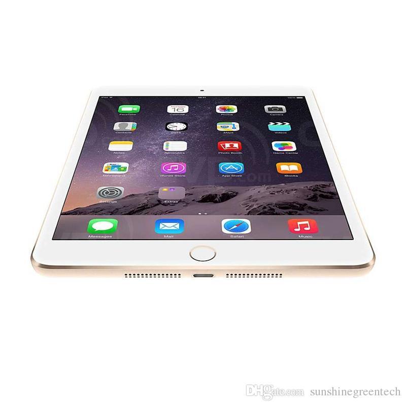 Восстановленный IPad мини 3 16GB 64GB Wi-Fi Оригинального IOS Tablet A7 7,9 дюйма с сенсорным ID Tablet PC