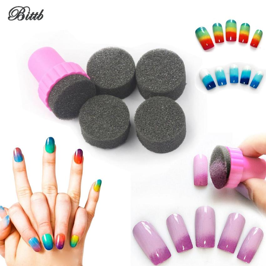 Bittb Nail Art Tool Painting Equipment Nail Polish Stamping Mini ...