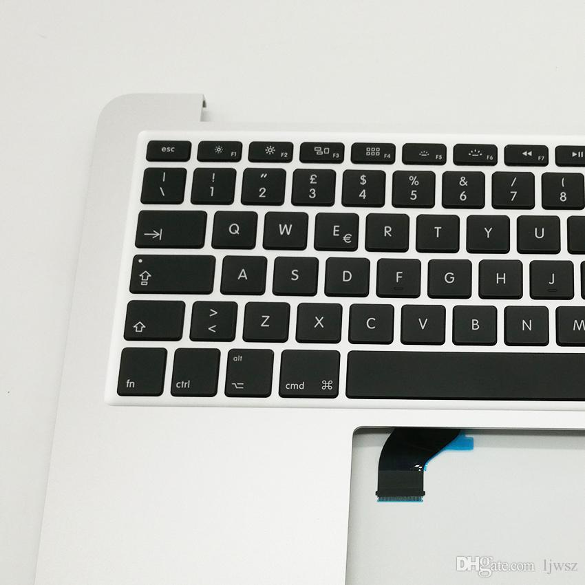 """New Topcase For Macbook Pro Retina 13.3 """" A1502 top case with IT Italian Italy Keyboard & Backlight 2015 2016"""