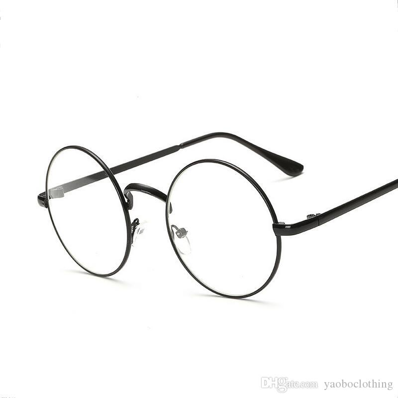 f1b2c7694a 2019 2017 Retro Oversized Eyewear Nerd Clear Lens Optical Frame Quality  Acetate Oculos Vintage Men Women Round Glasses Frame From Yaoboclothing