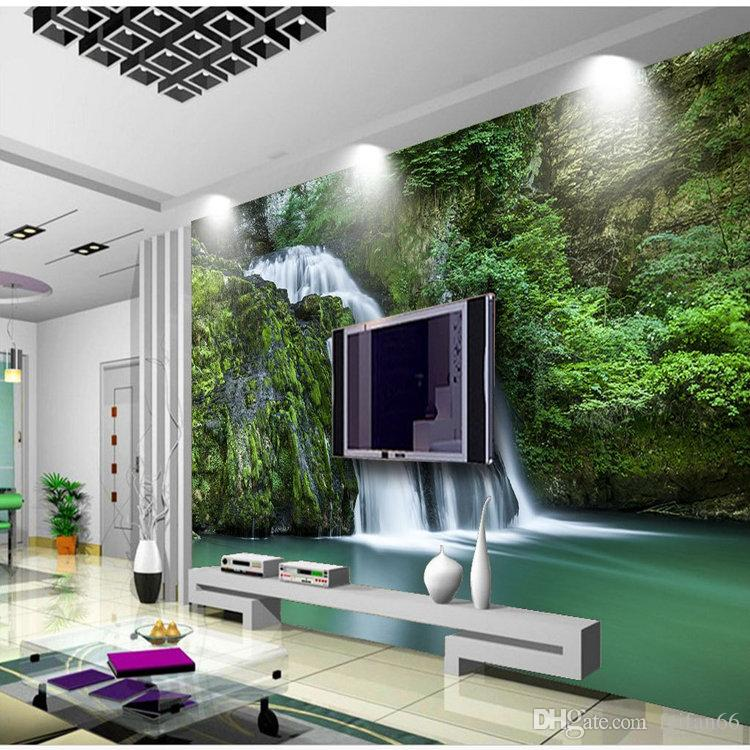 Acquista Feifan 3d Waterworks Makeplaces Walls Wall Background Wall ...