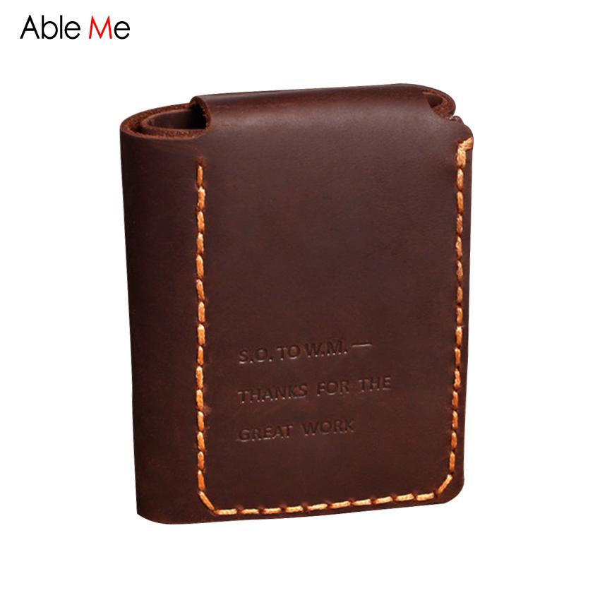 Personalizada Wallet Handmade Genuine Short Del 94 Dhgate 41 Mitty Mini Vintage Printing Goin Walter Hombres Cartera A Motto Monedero Letter Leather O8FvznP
