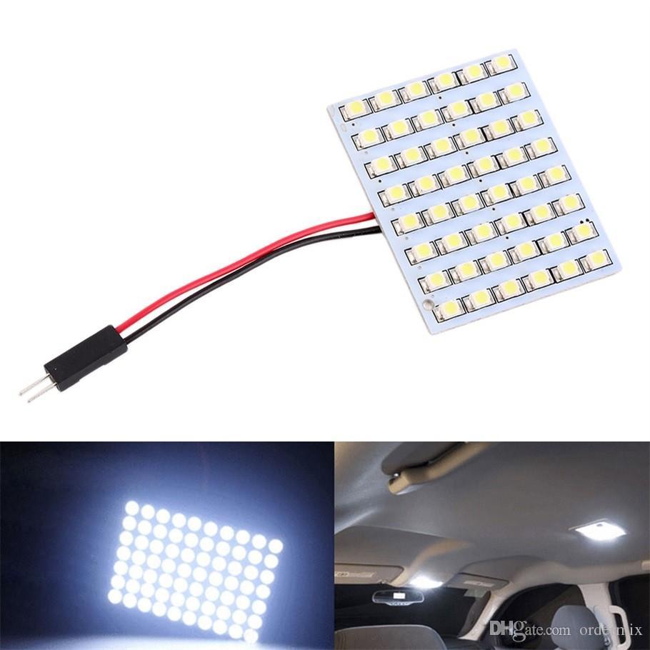 백색 LED위원회 48 SMD 1210 차량 차량 트럭 실내 돔 빛 전구 꽃꽂이 지시자 점화