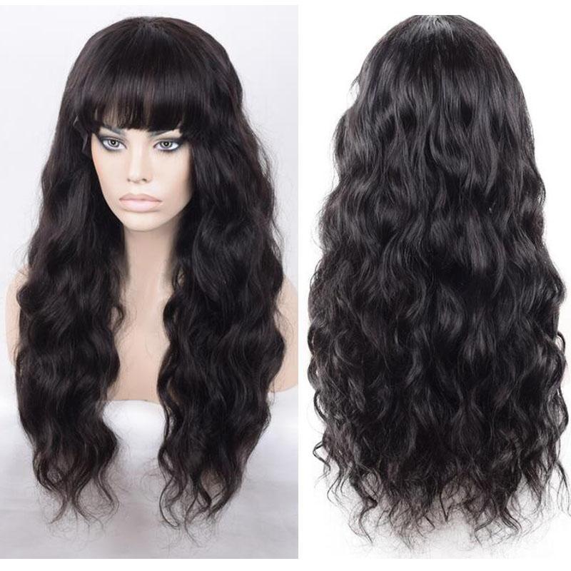 İşlenmemiş yüksek kaliteli insan saçı kamboçyalı saç tam dantel peruk patlama ile vücut dalga toptan dantel ön peruk